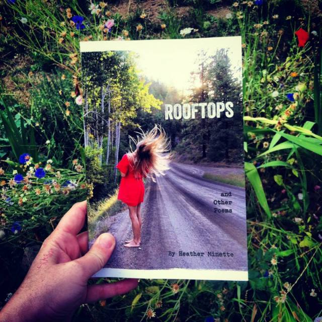 Rooftops and Other Poems published by Blue Hour Press